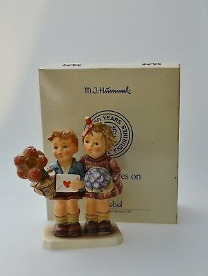 """Hummel 416 Jubilee 50 Years Special Edition The Love Lives On 6"""" TMK 6 W/ Box"""