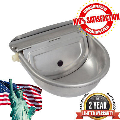 Automatic Water Stainless Steel Trough Horse Cow Dog Drink Sheep Goat Auto Bowl
