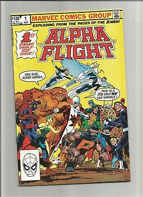 ALPHA FLIGHT #1 NM Byrne 1st PUCK & MARINA COMBINE SHIPPING
