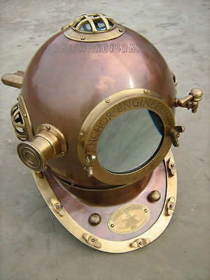 Antique Helmet Made By Anchor Engineering Germany 1921- Diving Helmet