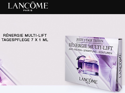 Lancome Renergie Multi Lift Anti Age Creme Tagescreme Tagespflege 7x1 Probe 7 ml