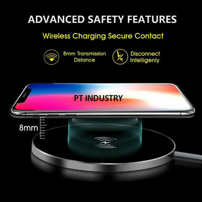 WIRELESS CELLPHONE CHARGING Pad QI Cordless Phone Charger Universal
