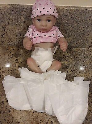 HUGGIES LITTLE SNUGGLERS MICRO PREEMIE  SET OF 5 FOR BABIES OR REBORNS UP TO 4PD