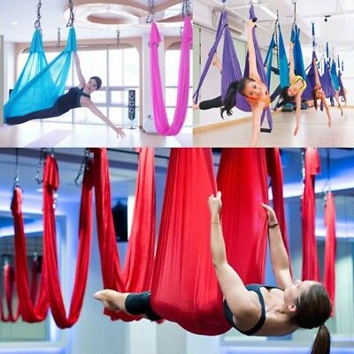 Anti-gravity Inversion Yoga Hammock Therapy Swing Aerial Large Bearing