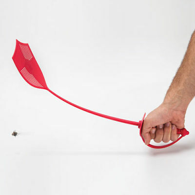 Fly Sword Red Swatter Mosquito Camping Garden Insect Peleg Design Genuine New