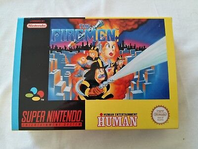 The Fireman SNES Art Case PAL version