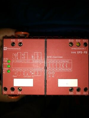 telemechanique preventa type xps-fb, injection moulding machine part