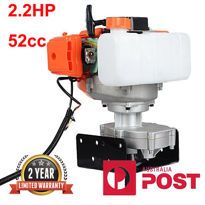 """2.2HP Gas Powered Post Hole Digger with 4"""" Earth Auger 52CC Power Engine"""