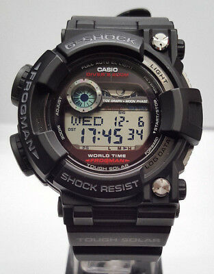 CASIO G-SHOCK Frogman GF-1000 Herren Uhr Tough Solar 58mm