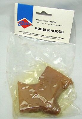 Vintage NOS Road Race Fixie Bicycle Malvern Star Gum Tan Brake Lever Covers