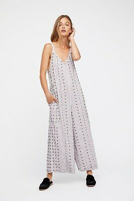 59d84b5f5013 NWOT FREE PEOPLE Gracre Embelllished Jumpsuit Large -  169.99