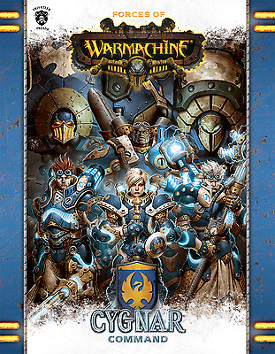 Forces of Warmachine, Cygnar Command - PIP 1080