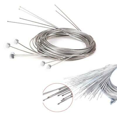 Bike Bicycle Cycle 1/2/5 pcs Brake Inner Line Cable Core Steel Universal Silver