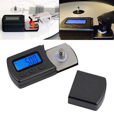 0.01g Digital Cartridge Stylus Tracking Force Scale Gauge LCD Turntable Stylus
