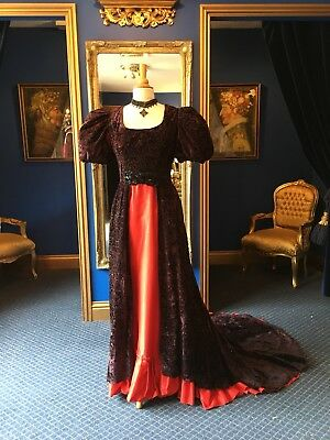 Stunning Theatrical Edwardian Style EvenIng Dress, Really Beautiful Item!!