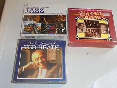 Cd / A Selection Of Three Cd Sets Of Big Band Jazz (2 3 Cdset ,One 4 Cdset