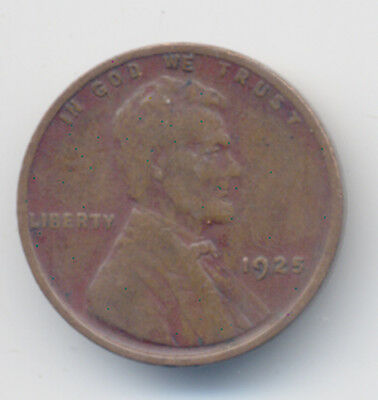 1925 Lincoln Wheat Penny Cent