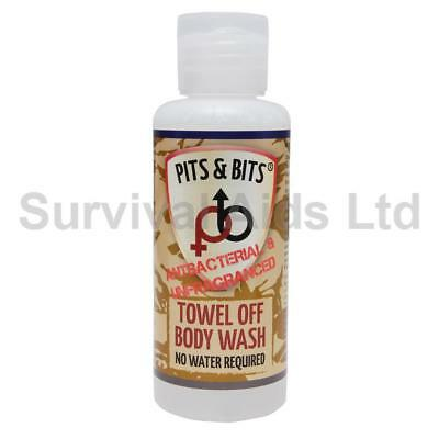 Pits & Bits Towel Off Unfragranced Body Wash
