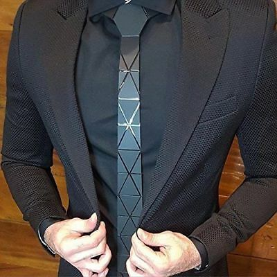 Reversible Acrylic Tie ( Triangle )-Free Shipping