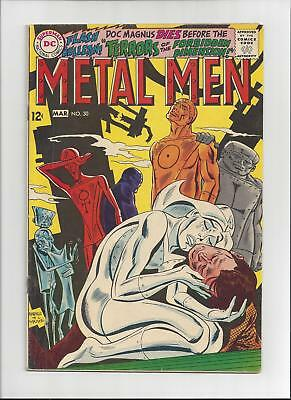 Metal Men Issue: #30  Cover Date: March, 1968 - Fine