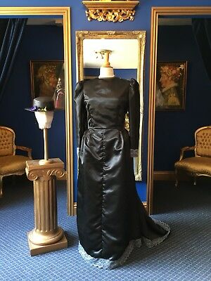 Stunning Theatrical Edwardian Style Day Dress, Really Beautiful Item!!