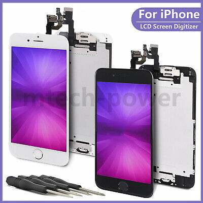 For iPhone 6 6s 7 8 Plus Front Screen Replacement LCD Touch Digitizer Assembly