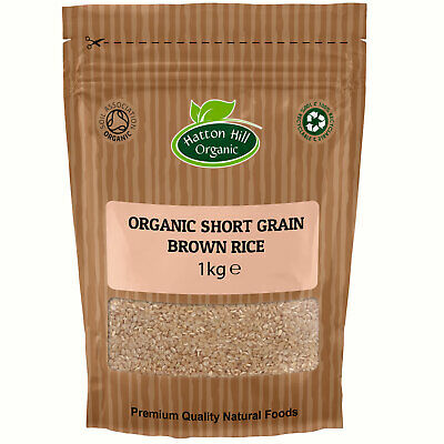 Organic Short Grain Brown Rice Certified Organic