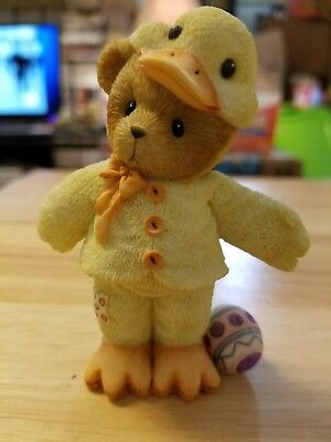 """Cherished Teddies Brendan """"May your Easter be just ducky"""""""