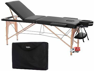 Massage Table Light Weight Portable Folding Beauty Professional Set W/ Carry Bag