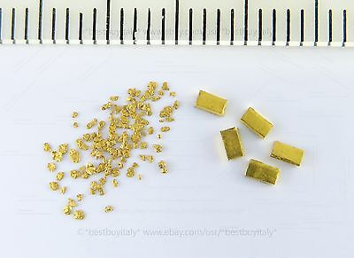 (US) 150 certified gold nuggets from Australia+5 gold bullion 999.9