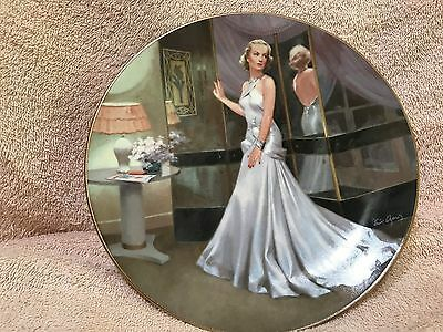 Carole Lombard as Mary in The Gay Bride Collector Plate Hollywood Glamour Girls
