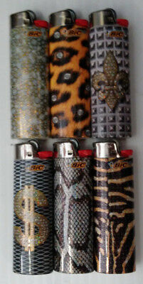 BIC Special Edition Hip Nation Lighters, Set of 6 Lighters