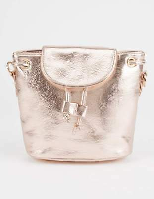 8af5f9c1a3 TYRA METALLIC MINI Backpack Rose Gold Tillys NWT -  15.00
