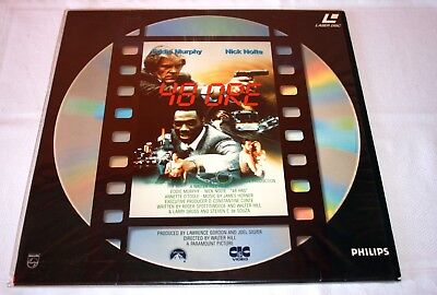 Laserdisc 48 ore hours film in italiano PAL TV 1992 da collezione
