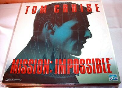 Mission: Impossible Tom Cruise laserdisc film in italiano  1997