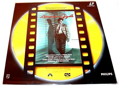 Laserdisc American Gigolo con Richard Gere film in italiano