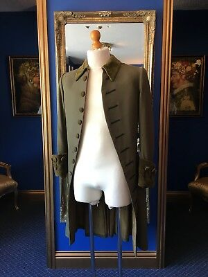 "Mens Period Coat ""English National Opera"" From Mozart's ""the Marriage Of Figaro"""