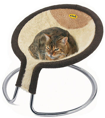 Deluxe Napper Cat Bed with Removable Cover - Washable at 30 degrees