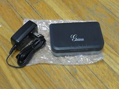 GrandStream HT702 2-Ports VOIP Analog Telephone Adapter