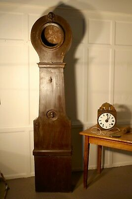 Very old French Long Case (Grandfather Clock), Fusee in need of restoration