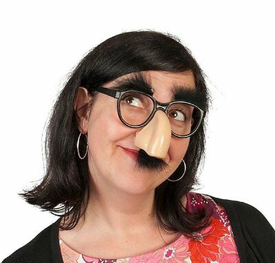 3e036e56fe New Fancy Cosplay Disguise Moustache Glasses Halloween Party Dress Big Nose