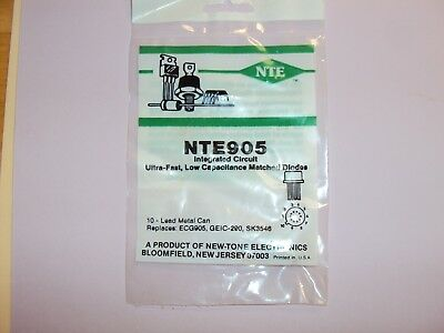 NTE905 SK3546 Low Capacitance matched diodes nos