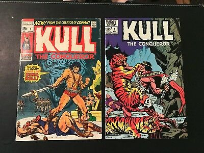 Kull, The Conquerer # 1 '71 + Vol.3 # 1 '83