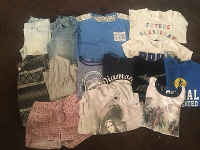 Lot Girls Summer Clothes Size 10/12