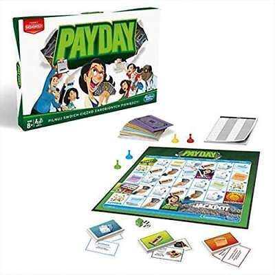 Hasbro HASE07511020 Payday Family Board Game Fun Playset | Brand New
