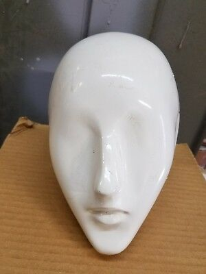 mannequin head female abstract