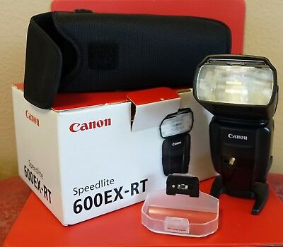 MINT Canon Speedlite 600EX-RT + Canon CP-E4 Compact Battery Pack