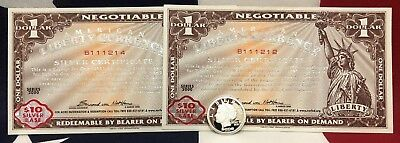 2000, 2008 Norfed alternatie currency and rounds Not Legal Tender (RARE)