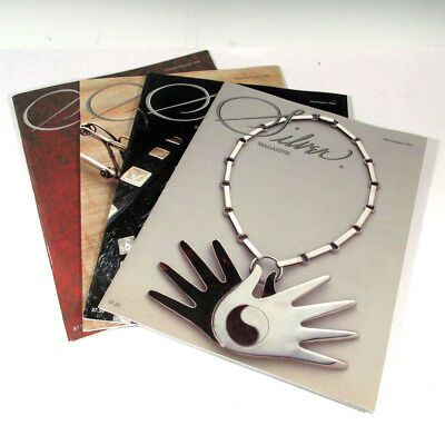 Silver Magazine Antique Sterling Silver 4 Issues 2003