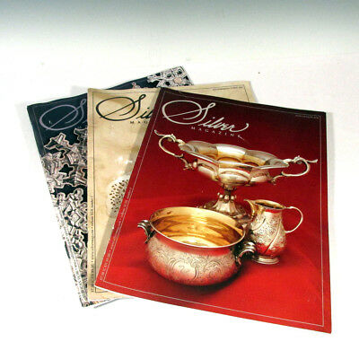 Silver Magazine Antique Sterling Silver 3 issues 2010